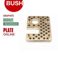 Buy cheap DIN United States ASTM / UNS Standard Cast Bronze Wear Plates Precision from wholesalers