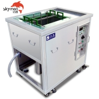 Cheap Precision Parts 1500W Ultrasonic Washing Machine Electrolysis Mold 95 Celsius for sale