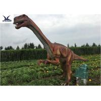 China Outside Zoo Park Decorative Realistic Dinosaur Models Water And Smoke Spraying for sale