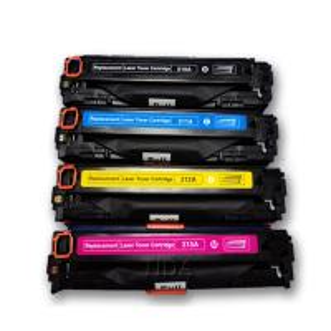 Cheap Replacement for Canon CRG-731 CMYK Colour Toner Cartridges for sale
