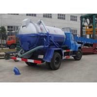 Cheap 5980*1980*2680m Waste Collection Vehicles, Vac truck / sewer vacuum truck XZJ5060GXW for drainage and suction for sale
