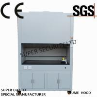Cheap 800W - 1400W Chemical Fume Hood , exhaust fume hoods With LCD Display Screen for sale