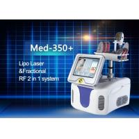 Cheap Perfect Combination Fractional RF And Diode Lipo Laser Machine High Efficiency for sale