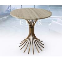 Buy cheap American Modern Style Nature Marble Top Small Side Coffee Table from wholesalers