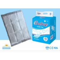 Cheap Nonwoven Absorbent Disposable Bed Liner Pads For Health / Personal Care for sale