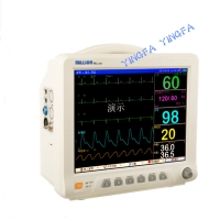Cheap Universal Movable  Medical Medical Clinic Portable Multi-Parameter ICU Blood Pressure Patient Monitor Price Monitor Trol for sale