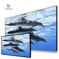Cheap HD 700nits high lightness Video Wall Screen 3.9mm for airport / gas station for sale