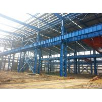 Heavy Structural Steel Frame Construction For Warehouse Convenient Assembly