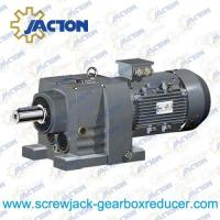 Cheap 75HP 55KW helical gearbox, Helical Gear Units, In-line Helical Gear motors Specifications for sale
