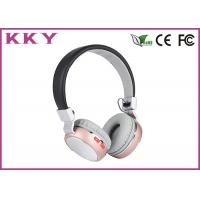 Quality Custom Logo On Ear Bluetooth Headphones With Mic 2.402~2.480GHz Frequency wholesale