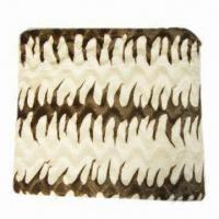 China Cozy Polyester Throw Animal Blanket, Any Designs are Available on sale