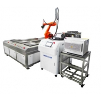 Cheap 1000W Multi Format Robot Laser Welding Machine For Precision Jewelry Processing for sale