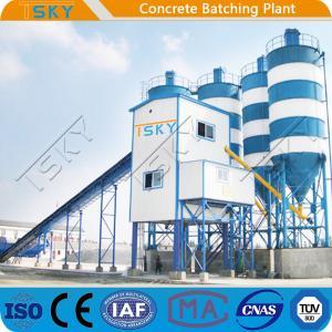 Cheap Modular Stationary HZS120 Concrete Batching Equipment for sale