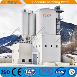 Cheap TSKY MS4000 Mixer 240m3/H Concrete Batching Systems for sale