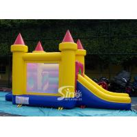 Cheap 4in1 indoor kids party small bouncy castle made of lead free material from Sino Inflatables for sale