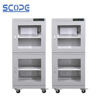 Buy cheap 4 Casters Ultra Low Humidity Dry Cabinet / Electronic Humidity Control Cabinet from wholesalers