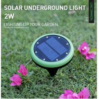 Cheap Floor Deck Solar Powered LED Outdoor Lights System Polycrystalline Silicon Solar Panel for sale