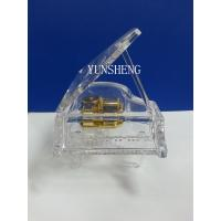 Cheap Acrylic Transparent Piano Music Box for Decoration (LP24) for sale
