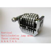 Cheap 3 Sinking Automatic Numbering Machines Vertical Anticlockwise Long Service Life for sale