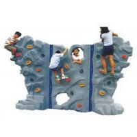 Cheap Interior Freestanding Rock Climbing Wall , Toddler Rock Climbing Wall High Rigidity for sale