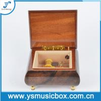 Cheap Wooden Music Box with Yunsheng Musical movement for Birthday Gift/Musical Box for sale