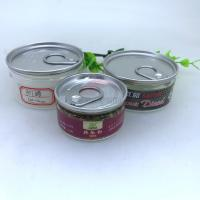 Quality Recyclable 100ml Small PET Plastic Can With Alu Easy Open Lid Damp - Proof wholesale