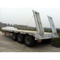 Buy cheap LOW BED SEMI TRAILER 60t 3axles from wholesalers