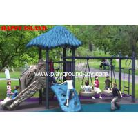 China Outdoor LLDPE Children Swing Sets Childrens Wooden Swing Sets For Amusement Park RKQ-5156A on sale