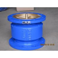Cheap Blue Quiet Check Valve , Stainless Steel Check Valve With Small Fluid Resistance for sale