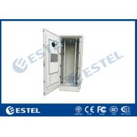 Buy cheap 48U Outdoor Telecom Equipment Cabinet With Anti-theft Lock Cover Temperature Control Double Wall Steel Cabinet from wholesalers