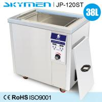 Buy cheap 38L SUS Auto Parts Industrial Ultrasonic Cleaner With Casters 600W from wholesalers