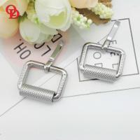 Cheap Bag Silver Small Metal Belt Buckle With Inner Length 19mm Width 16mm for sale