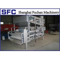 Cheap Compact Structure Sludge Dewatering Belt Press Machine With PLC Control for sale