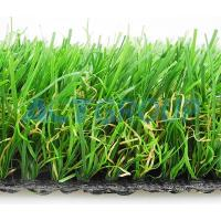 Cheap High Density Commercial Synthetic Grass , Dog Friendly Artificial Grass Anti - Bacterial for sale