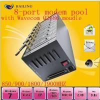 Buy cheap IMEI changeable 8 port GPRS SMS modem pool for bulk sms from wholesalers