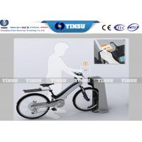 Cheap Ourdoor Public Stainless Steel Bike Rental System , Anti - Dust Self Service Kiosk for sale