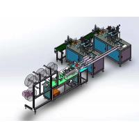 Buy cheap Disposable Automatic Face Mask Making Machine Efficient Frequency Control from wholesalers