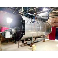 Cheap Stainless Steel Industrial Gas Fired Steam Boilers Dual Fuel Oil Gas Low Noise for sale