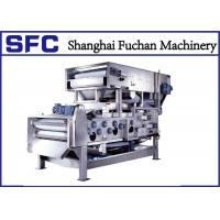 Cheap Sludge Dewatering Belt Press Machine For Industrial Wastewater Treatment for sale