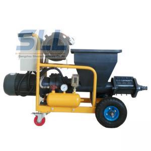 Multifunction Robot Mortar Spray Plaster Machine / Wall Plastering Equipment SLW120
