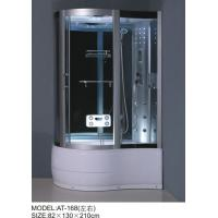 Foot Massage Bathroom Shower Enclosures 3 Sided Waste Drain / Syphon Included