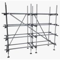 Buy cheap Construction BS1139 Hot Dipped Galvanised Scaffold Tube 48.3mm from wholesalers