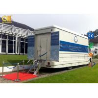 Cheap Hydraulic Movies System Truck Mobile Virtual Movie Theater 7D / 8D Kino Equipment for sale