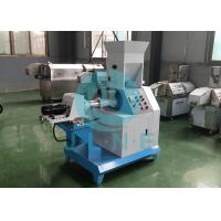 China Automatic Floating Fish Feed Extruder Machine Easy Operation Save Space on sale