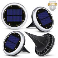 Cheap White Solar Powered LED Ground Lights / Solar Lights For Driveway Entrance for sale