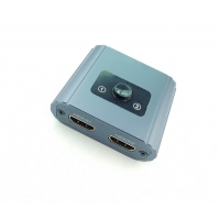 Cheap Aluminium Alloy Bidirectional AWG26 Audio video HDMI Switch for sale