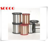 Cheap CuNi1 CuNi14 Nickel Alloy Wire , Copper Coated Resistance Wire 0.6mm / 0.8mm Dia for sale