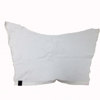 Cheap SGS Industrial Cleaning 5kg/Bag White T Shirt Rags for sale