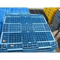 Reinforced plastic pallet produced in China, 1100x1100x150mm reversible shape