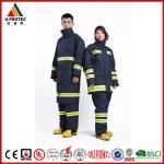 Cheap Professional Nomex Fireman Long Coat / Fire Commander Uniform for Men or Women for sale